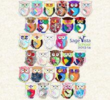 Sage Vista School Owls 2013-14 Hoodie