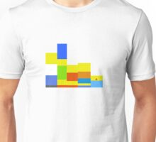 8-bit Simpsons family Unisex T-Shirt