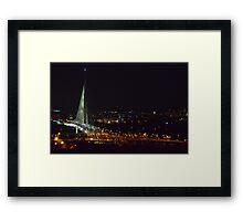 City At Night Framed Print