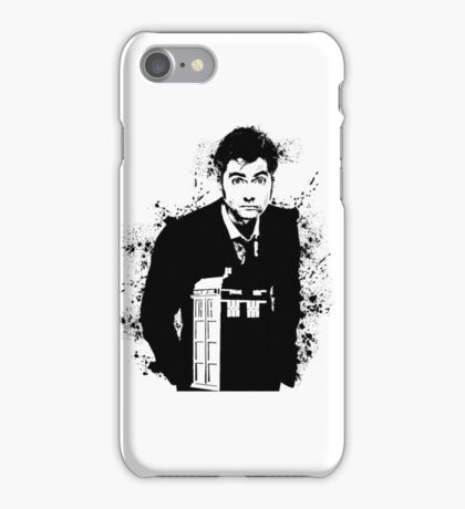The Ten Doctor iPhone Case/Skin