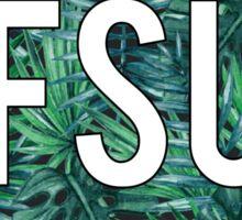 Florida State University Palm Trees Sticker