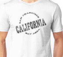 California Bay Area Stamp Unisex T-Shirt