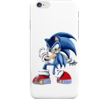 The Blue Blur, SONIC THE HEDGEHOG!! iPhone Case/Skin