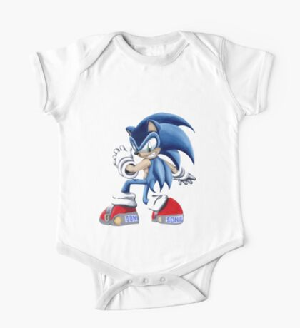 The Blue Blur, SONIC THE HEDGEHOG!! One Piece - Short Sleeve