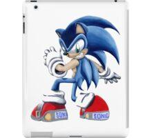 The Blue Blur, SONIC THE HEDGEHOG!! iPad Case/Skin