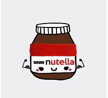 I Workout For Nutella  Photographic Print