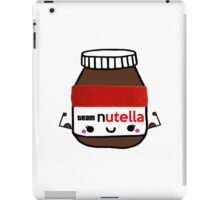 I Workout For Nutella  iPad Case/Skin