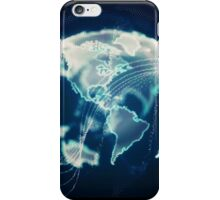 Planet Earth Particle Hologram iPhone Case/Skin