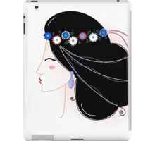 Slavic Woman Original fashion Illustration iPad Case/Skin