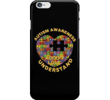 Autism Awareness Puzzle Heart iPhone Case/Skin