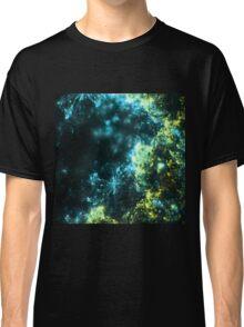Green Fireworks - Abstract Fractal Artwork Classic T-Shirt