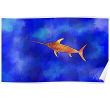 Kessonius V1 - amazing swordfish Poster