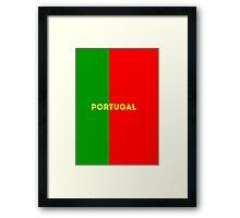 World Cup: Portugal Framed Print