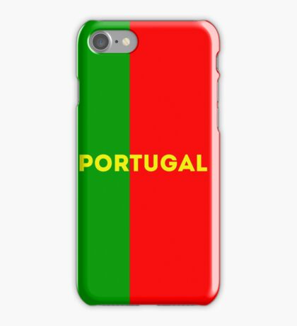 World Cup: Portugal iPhone Case/Skin