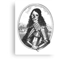 dead pirat smiling Canvas Print