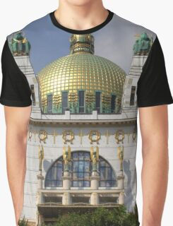 Church of St. Leopold, Vienna Austria Graphic T-Shirt