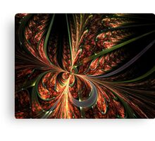 Orange Butterfly - Abstract Fractal Artwork Canvas Print