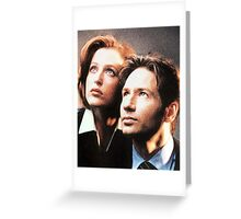 X-Files Greeting Card