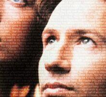 X-Files Sticker