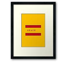 World Cup: Spain Framed Print
