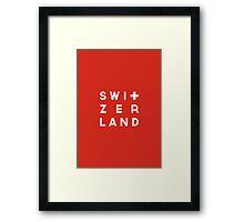 World Cup: Switzerland Framed Print
