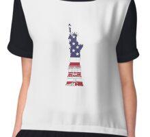 Statue of Liberty Chiffon Top