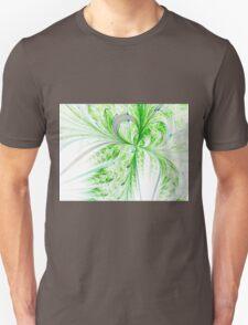 Green Butterfly - Abstract Fractal Artwork Unisex T-Shirt