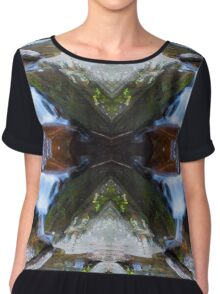 Goforth in Four Directions Chiffon Top