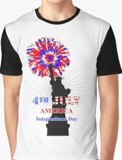 American Independence Day Happy 4th Of July Celebration Graphic Graphic T-Shirt