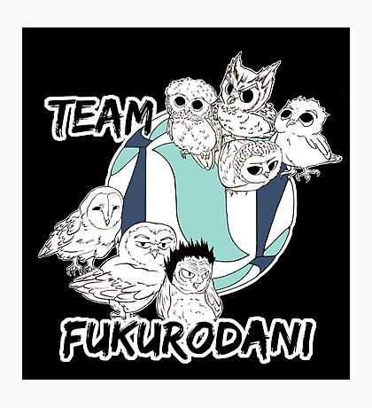 Team Fukurodani Photographic Print