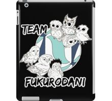Team Fukurodani iPad Case/Skin