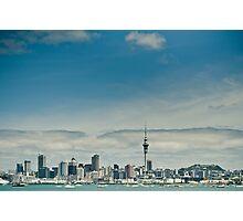 Retro Auckland Photographic Print
