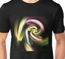 Golden Spiral - Abstract Fractal Artwork Unisex T-Shirt