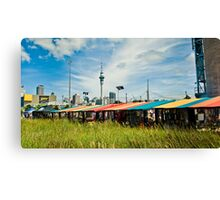Colourful Auckland Canvas Print