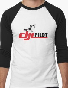 DJI PILOT  Men's Baseball ¾ T-Shirt
