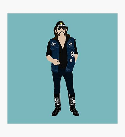 Tribute: Lemmy Photographic Print