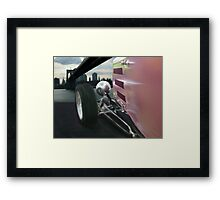 Deuce and The Bridge Framed Print