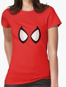 FunnyBONE Spidey Face Womens Fitted T-Shirt
