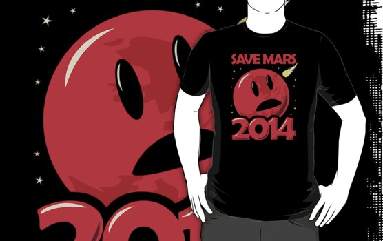Save Mars 2014! by jezkemp
