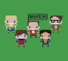 The Big Bang Theory - Sheldon BAZINGA!! by RumShirt