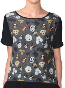 Canine Collective Chiffon Top