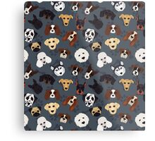 Canine Collective Metal Print