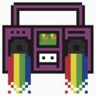 8 Bit Boom Box by derpfudge