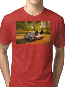 DELOREAN.... Back to the Future. Tri-blend T-Shirt