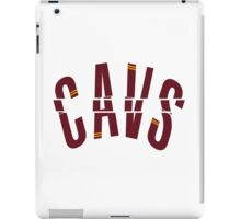 go, fight, win, cleveland cavaliers iPad Case/Skin