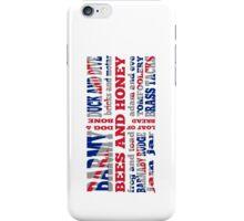 Union Jack, Cockney Rhyming Slang iPhone Case/Skin