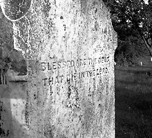 Blessed Are the Dead That Die in the Lord by Righteous Zombie