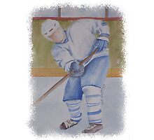 HE SHOOTS - HE SCORES! Photographic Print