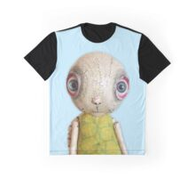 Sheldon The TUrtle - Baby Blue Graphic T-Shirt