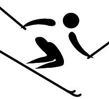 Alpine Skiing Pictogram by abbeyz71